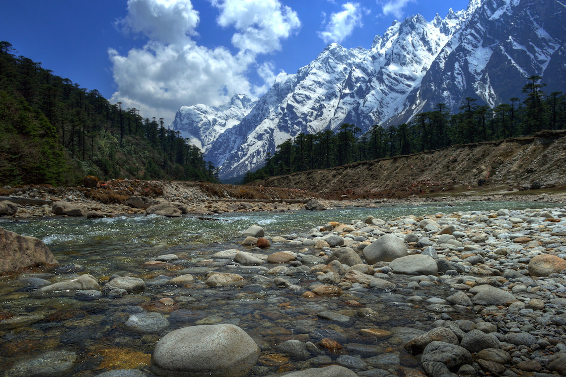 Le montagne himalayane nelSikkim © Sudipto Sarkar/Flickr