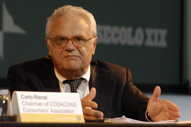 Carlo Rienzi, presidente del Codacons