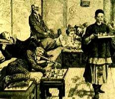 Locali dove acquistare e consumare oppio nel 1800 in Europa