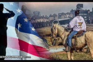 """I Veterani US si organizzano """"Come unità militare"""" per difendere i Nativi Americani dalla Polizia"""