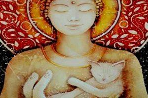 La leggenda buddista sui gatti e la spiritualità