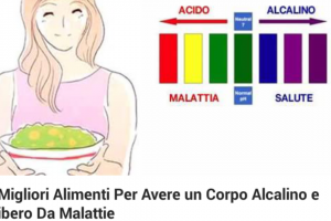 I 27 alimenti più alcalini: un corpo acido è più esposto a malattie