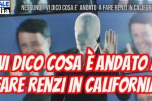 Il vero motivo della visita di Renzi in California