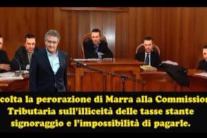 Alfonso Luigi Marra: Tasse non dovute per signoraggio. (video)