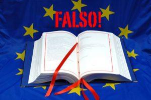 Ennesima TRUFFA, l'Unione Europea giuridicamente non esiste !!