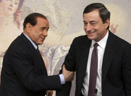 Verso l'inciucio Pd-Berlusconi per blindare i buchi segreti di Mps che inguaiano Draghi per omessa vigilanza