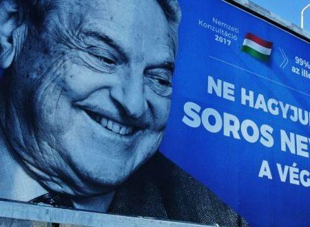 "Viktor Orban: ""Stop Soros!"" (Sulla nuova iniziativa legislativa del governo ungherese)"