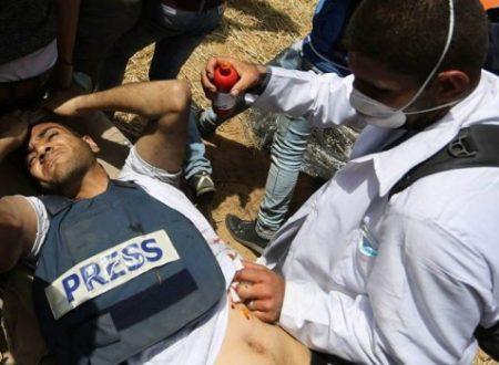 Yasir Murtaja, giornalista palestinese assassinato a Gaza da Israele nel disinteresse totale dei media occidentali