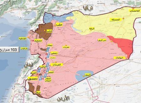 Siria: mappa degli obiettivi occidentali (e Rothschild)