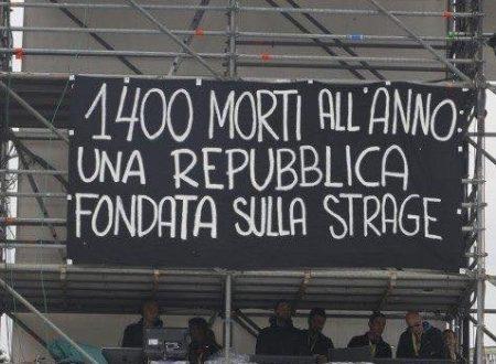 220 omicidi e sempre meno diritti. Quest'anno il Primo Maggio non c'è niente da festeggiare