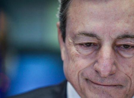 """Draghi: """"Un Paese con il debito troppo alto perde sovranità"""""""
