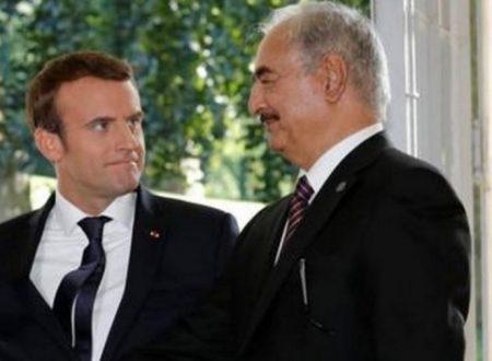 Con Haftar, la Francia riprova a sfrattare l'Italia dalla Libia